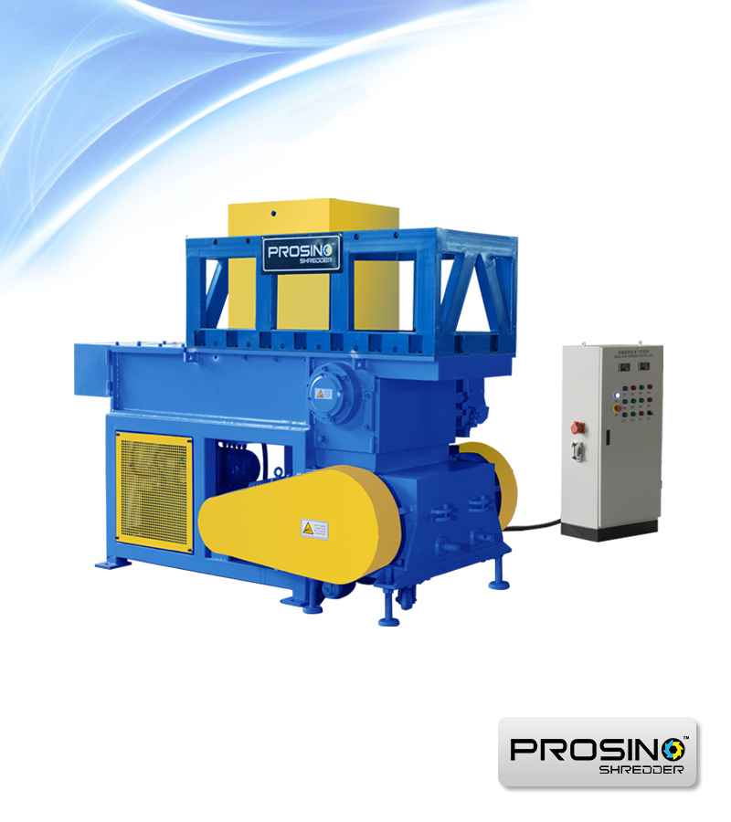 Shredding & Granulating Integrated Unit - PROSINO