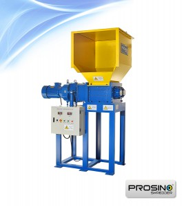 Single motor double shaft shredder-img