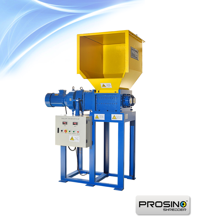 Double Shaft Shredder | Twin Shaft Shredders - PROSINO