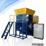 Single Rotor Shredder | One Shaft Shredder - PROSINO