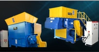 Single Shaft Shredder Machine | Single Rotor Shredder - PROSINO