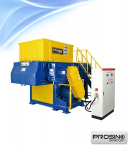 Single Shaft Shredder for Sale | Single Rotor Shredder