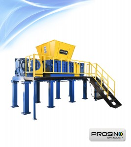 PROSINO dual motor twin shaft shredder