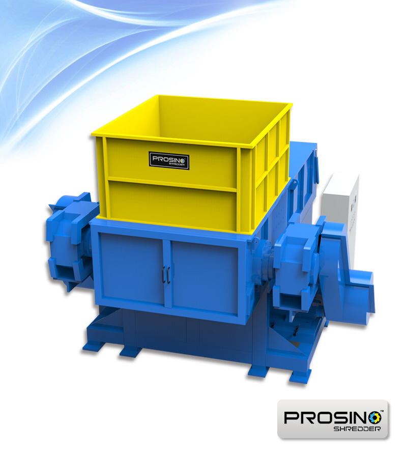 Single Shaft Shredder for Sale | One Shaft Shredders