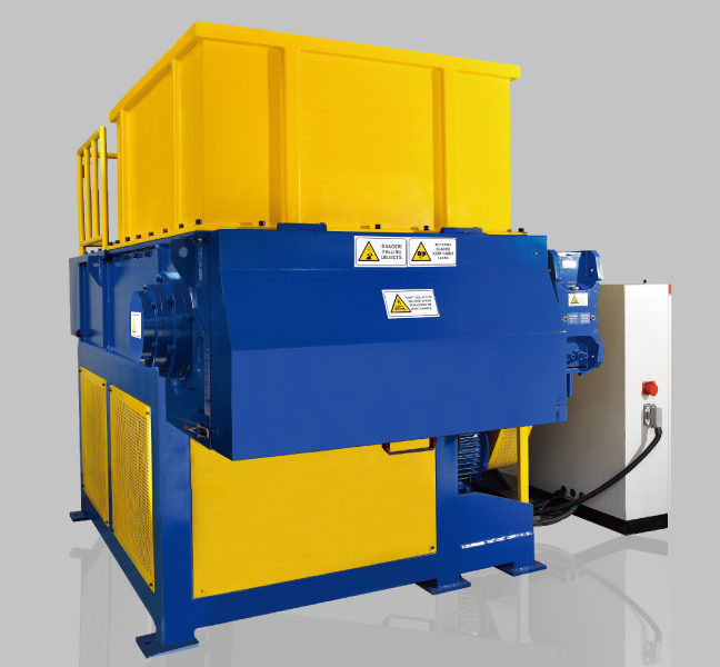 Single Shaft Shredder – Single Motor