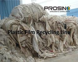 Plastic Film Recycling Line Prosino Shredder