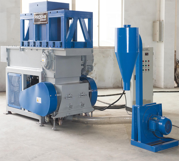 Air Extraction & Collection System_PROSINO shredding and granulating integrated unit