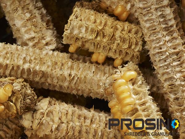Corn Cob Shredder Corn Cobs Crusher Prosino