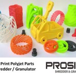 3D Print Polyjet Parts Shredder / Granulator