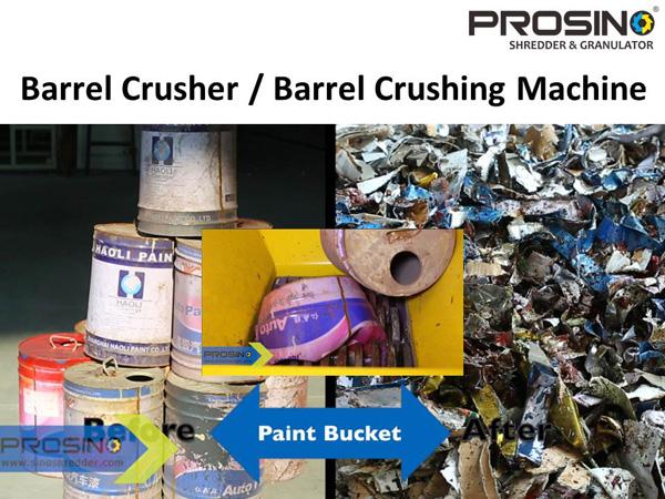 Barrel Crusher Minimize Barrel Waste In Barrel Recycling