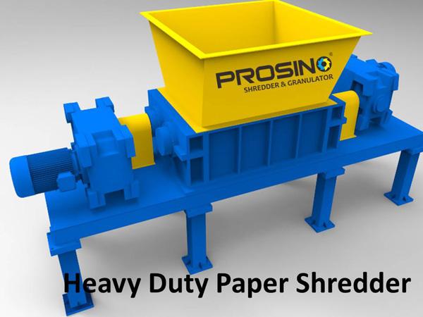 Industrial Heavy Duty Paper Shredder Paper Waste Shredder