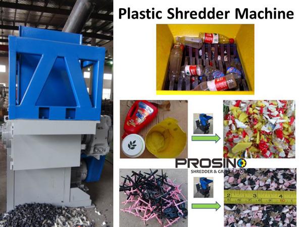 Plastic Shredder Machine In Plastic Recycling Prosino