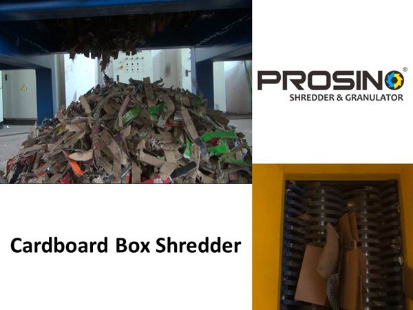Cardboard Box Shredder Cardboard Box Shredding Machines
