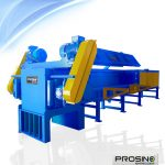 Horizontal Pipe Shredder Machine, Large Pipe Shredding Machine