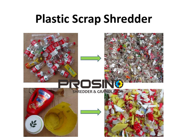 Plastic Scrap Shredder Machine, Plastic Scrap Shredding Machine
