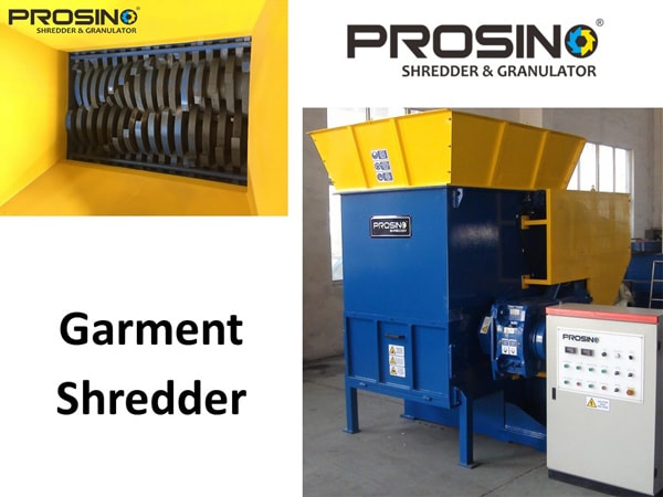 Garment Shredder Machine, Garment Shredding Machine - PROSINO
