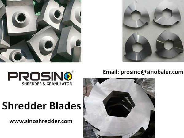 Shredder Blades, Shredder Knives, Shredding Machine Blade - PROSINO