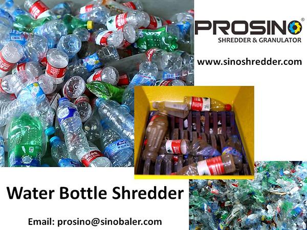 Water Bottle Shredder Machine, Water Bottle Granulator - PROSINO