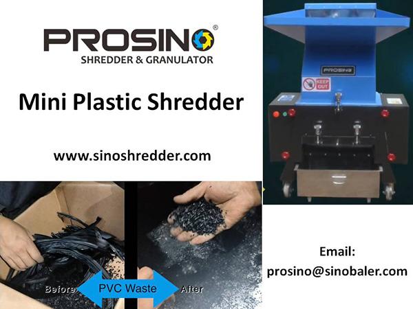 Mini Plastic Shredder Machine, Mini Plastic Shredding Machine For Sale