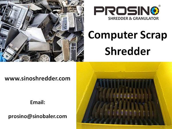 Computer Scrap Shredder Machine, Computer Scrap Shredding Machine