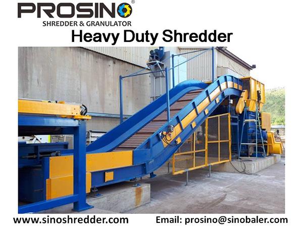 Heavy Duty Shredder Machine, Heavy Duty Shreding Machine - PROSINO