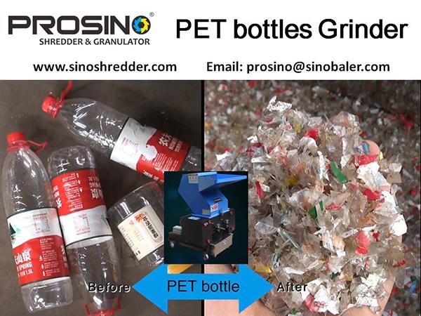 PET Bottles Grinder Machine, PET Bottles Grinding Machine - PROSINO