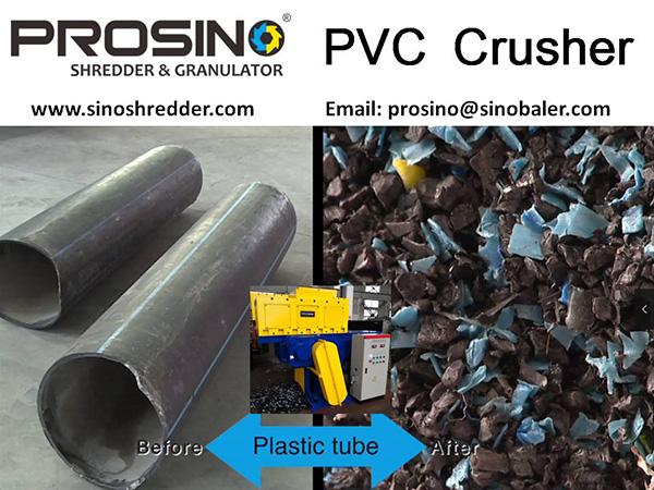 PVC Crusher Machine, PVC Pipe Crusher, PVC Granulator - PROSINO