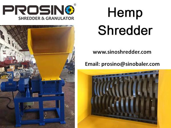 Hemp Shredder Machine, Hemp Granulator, Hemp Shredding Machine