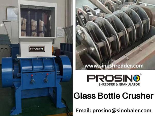 Glass Bottle Crusher Machine, Beer Bottle Crusher For Sale - PROSINO