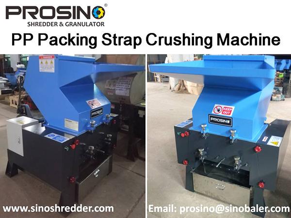 PP Packing Strap Crushing Machine, Plastic Packing Strap Crusher