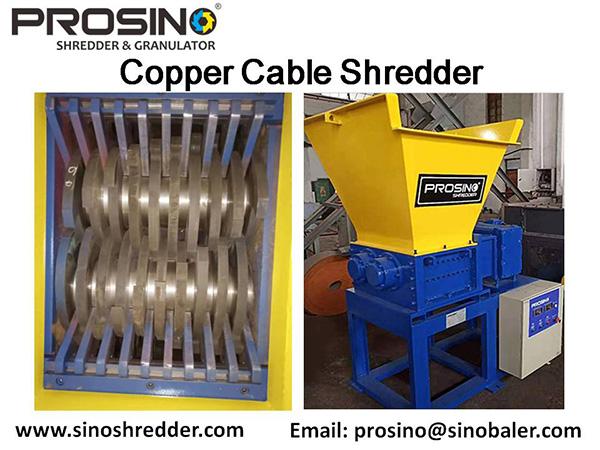 Copper Cable Shredder Machine, Copper Cable Shredding Machine