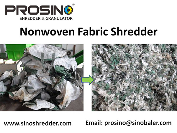 Nonwoven Fabric Shredder Machine, Nonwoven Shredding Machine