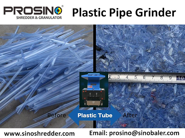 Plastic Pipe Grinder Machine, Plastic Pipe Grinding Machine - PROSINO