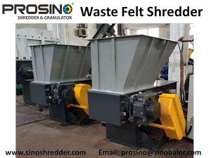 Waste Felt Shredder Machine, Felt Crusher, Felt Shredding Machine