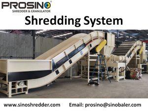 Shredding System, Industrial Shredding System, Waste Shredding System