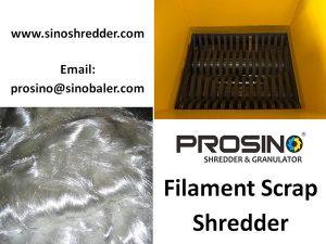 Filament Scrap Shredder Machine, Filament Scrap Shredding Machine