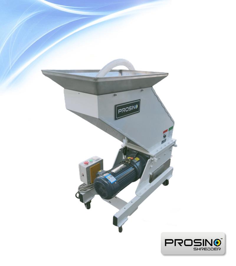 Silent Granulator, Silent Grinder, Silent Granulating Machine - PROSINO