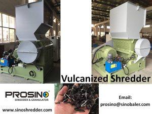 Vulcanized Rubber Shredder, Vulcanized Rubber Shredding Machine